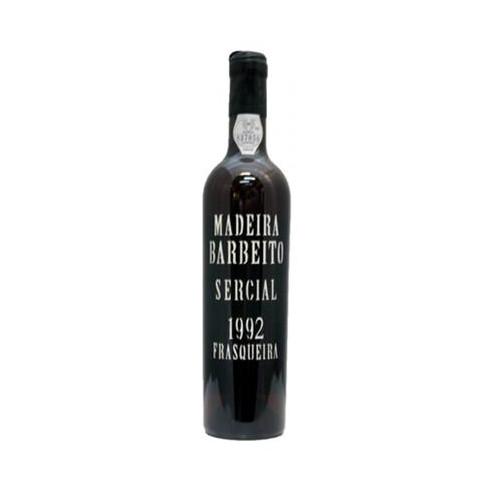 Barbeito Frasqueira Sercial Madeira 1992