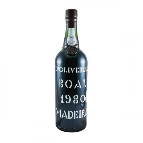 D´Oliveiras Boal Meio Doce Madeira 1980