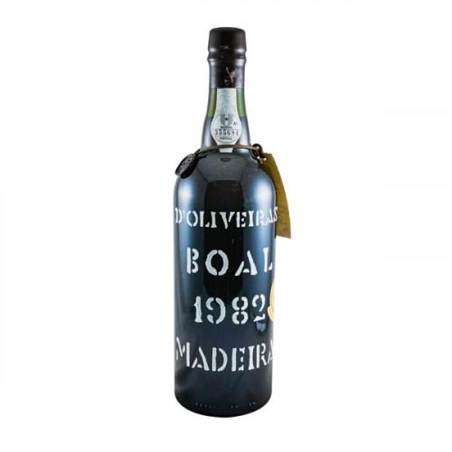 D´Oliveiras Boal Meio Doce Madeira 1982