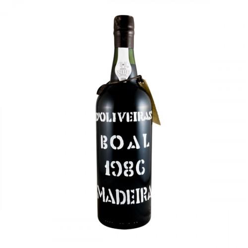D´Oliveiras Boal Medium Sweet Madeira 1986