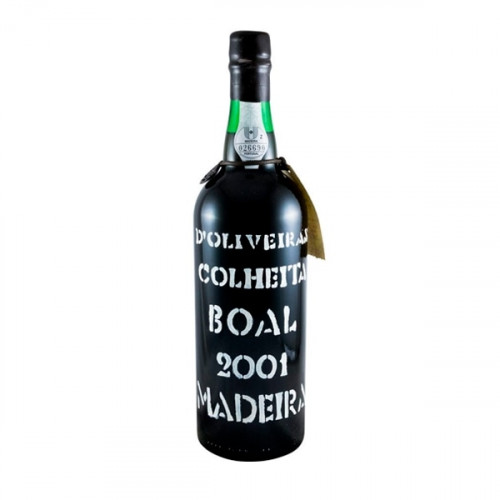D´Oliveiras Boal Medium Sweet Madeira 2001