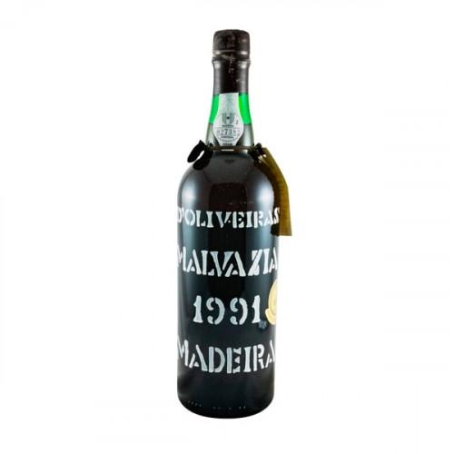 D´Oliveiras Malmsey Sweet Madeira 1991