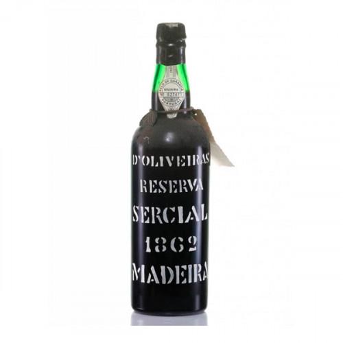 D´Oliveiras Sercial Dry Madeira 1862