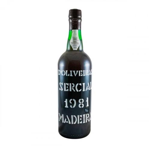 D´Oliveiras Sercial Dry Madeira 1981