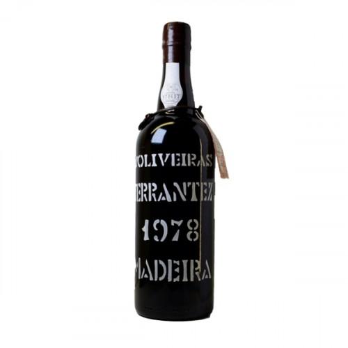 D´Oliveiras Terrantez Medium Sweet Madeira 1978