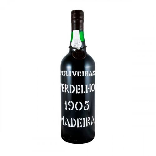 D´Oliveiras Verdelho Meio Seco Madeira 1905