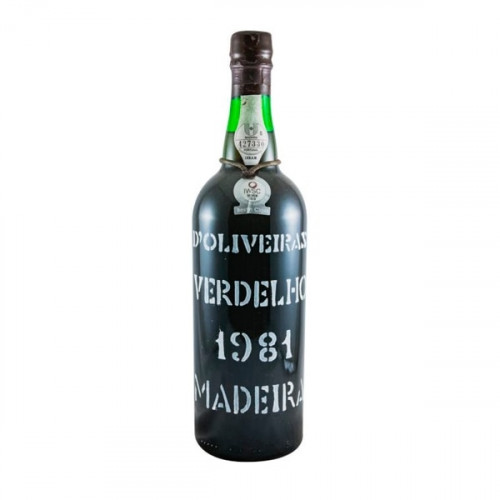 D´Oliveiras Verdelho Medium Dry Madeira 1981