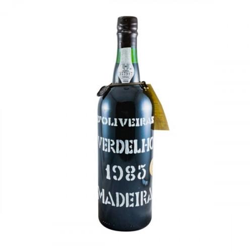 D´Oliveiras Verdelho Meio Seco Madeira 1985