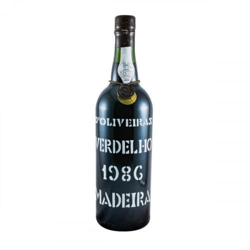 D´Oliveiras Verdelho Medium Dry Madeira 1986