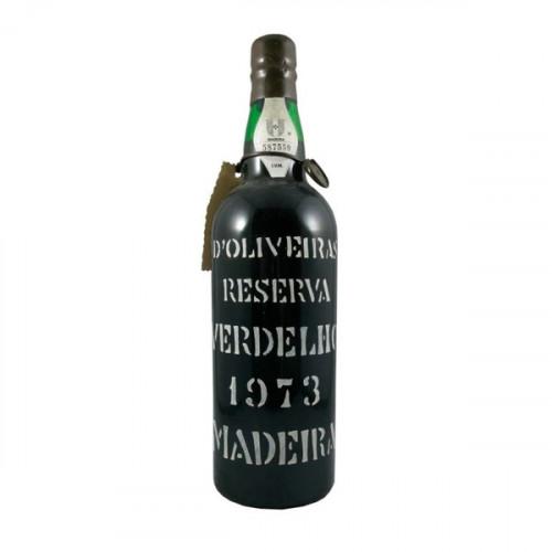 D´Oliveiras Verdelho Medium Dry Madeira 1973
