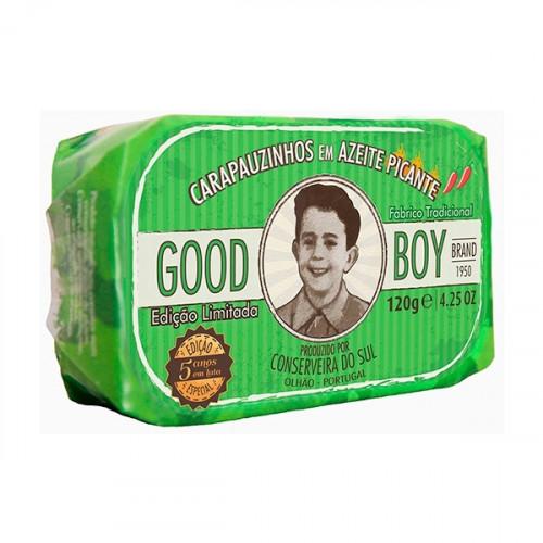 Good Boy Piccolo sugarello in olio di oliva piccante