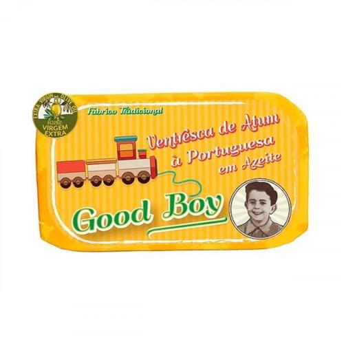 Good Boy Ventresca Tuna Fillets in Extra Virgin Olive Oil