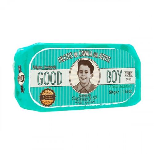 Good Boy Filets de maquereau à l'huile d'olive