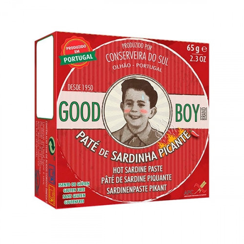 Good Boy Hot Sardine Pâté