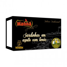 Manná Gourmet Sardines in Extra Virgin Olive Oil with Lemon