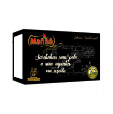 Manná Gourmet Sardines sans peau et boutons à l'huile d'olive extra vierge