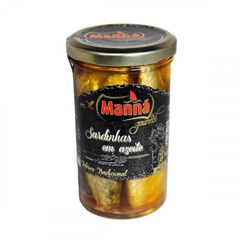 Manná Gourmet Sardines in Olive Oil