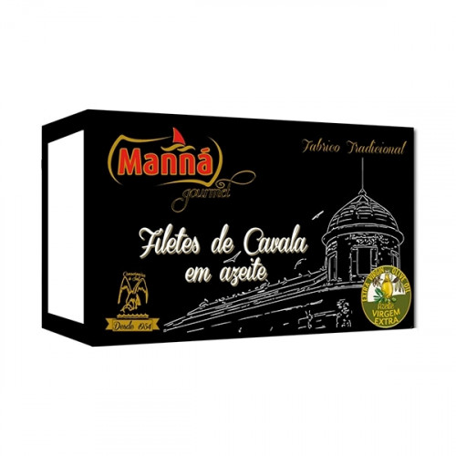 Manná Gourmet Filets de maquereau à l'huile d'olive extra vierge