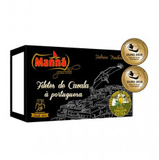 Manná Gourmet Mackerel Fillets Portuguese Style in Extra Virgin Olive Oil