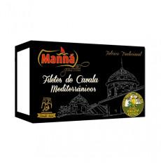 Manná Gourmet Filetes de Caballa con Orégano en Aceite de Oliva Virgen Extra