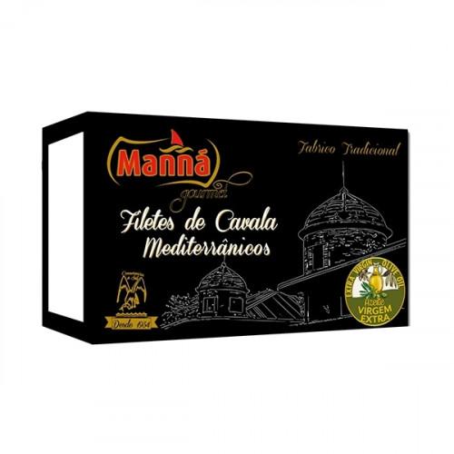Manná Gourmet Filets de maquereau méditerranéen
