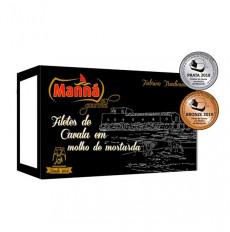 Manná Gourmet Filetes de caballa en salsa de mostaza