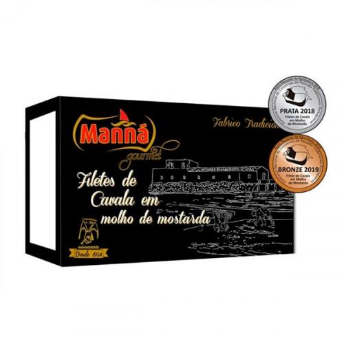 Manná Gourmet Filets de maquereau dans une sauce à la moutarde