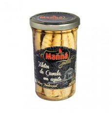 Manná Gourmet Filetes de caballa en aceite de oliva