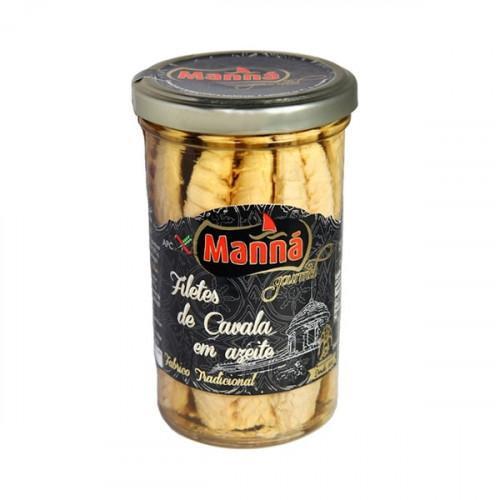 Manná Gourmet Filets de maquereau à l'huile d'olive