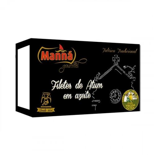 Manná Gourmet Filetes de Atún en Aceite de Oliva Virgen Extra