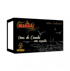 Manná Gourmet Huevas de caballa en aceite de oliva