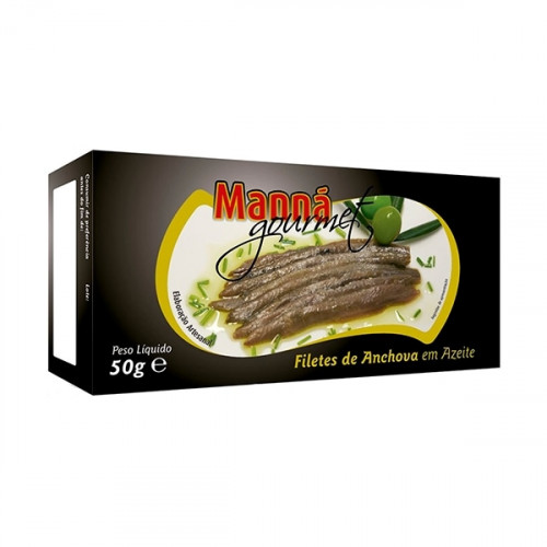 Manná Gourmet Anchovy Fillets in Olive Oil