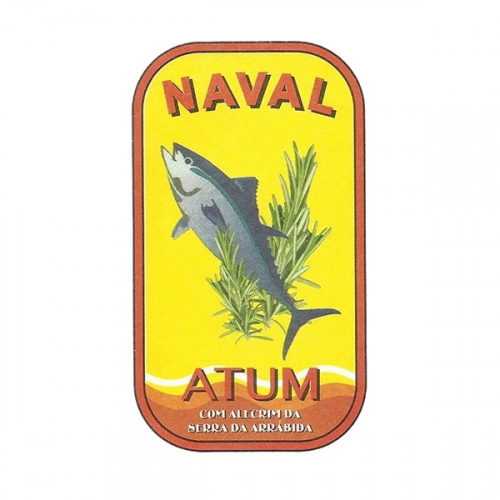 Naval Filetes de atún en aceite de oliva con romero