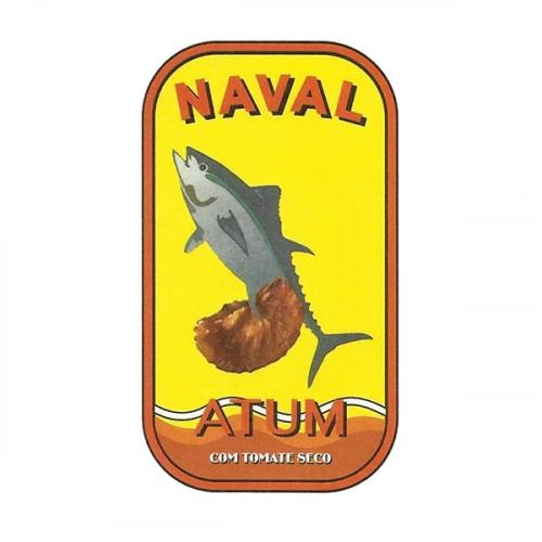 Naval Filetes de atún en aceite de oliva con tomate seco siciliano