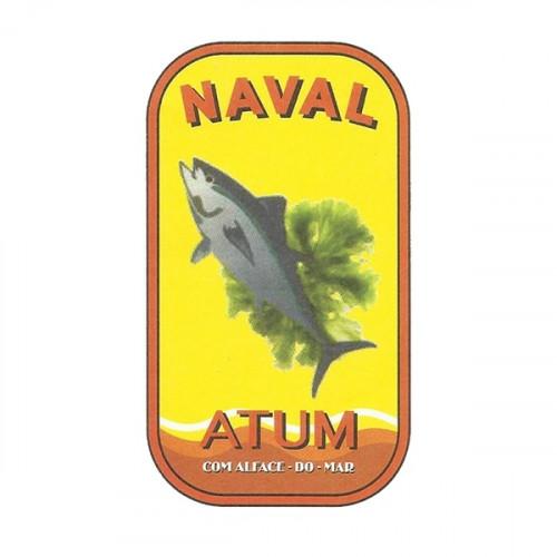 Naval Filetes de Atún en Aceite de Oliva con Algas