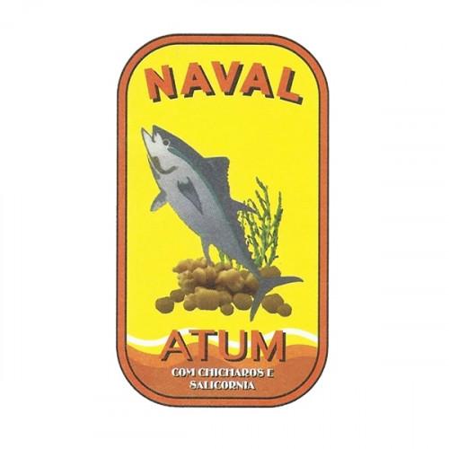 Naval Filetes de Atún en Aceite de Oliva con Chicharos y Salicórnia