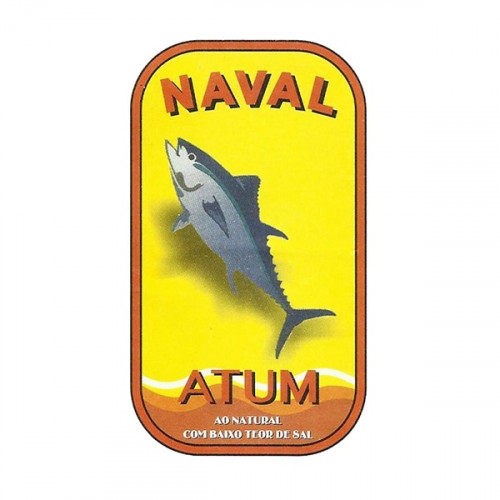 Naval Tuna Fillets in Water and Low Sodium