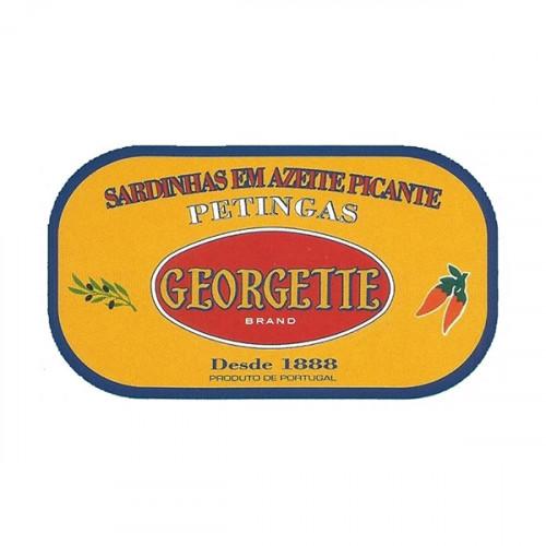 Georgette Sardinhas em Azeite Picante