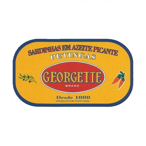 Georgette Sardines in Spicy Olive Oil