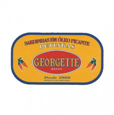 Georgette Sardines in Spicy Vegetable Oil