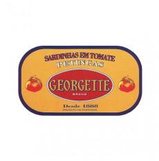 Georgette Sardinas en Salsa de Tomate