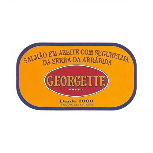 Georgette Salmão em Azeite com Segurelha da Serra da Arrábida BIO