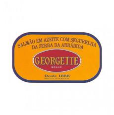 Georgette Salmão em Azeite...