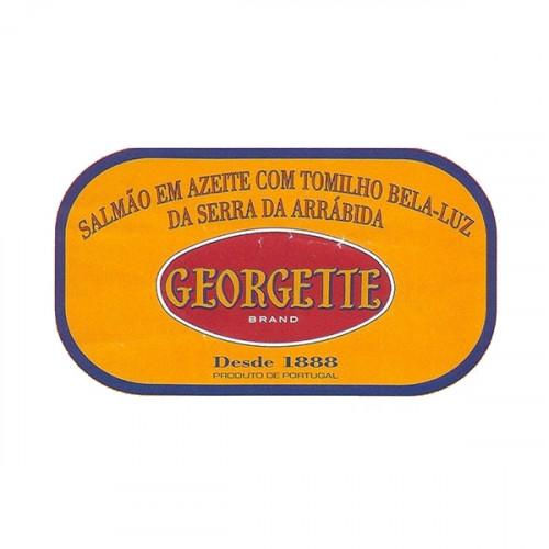 Georgette Salmão em Azeite com Tomilho Bela-Luz da Serra da Arrábida BIO
