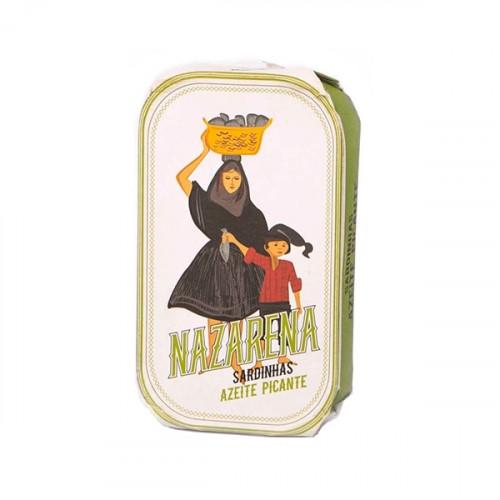 Nazarena Sardines in Spicy Olive Oil