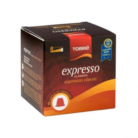 Torrié Expresso Compatible con Nespresso 10 unidades