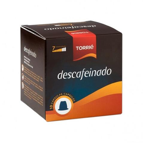 Torrié Decaf Compatible con Nespresso 10 unidades