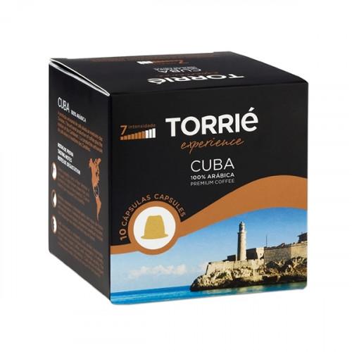 Torrié Cuba Compativel Nespresso 10 unidades