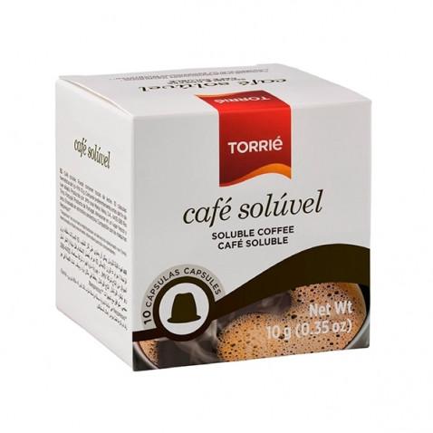 Torrié Café Soluble Compatible con Nespresso 10 unidades