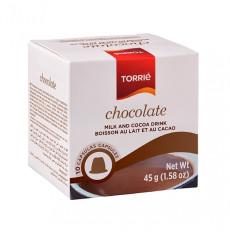Torrié Chocolate Soluvel Compativel Nespresso 10 unidades